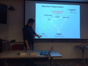quantum teleportation