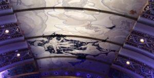 Bushnell ceiling.