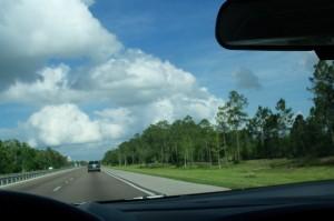 Very boring highway.  Very long, very boring highway.