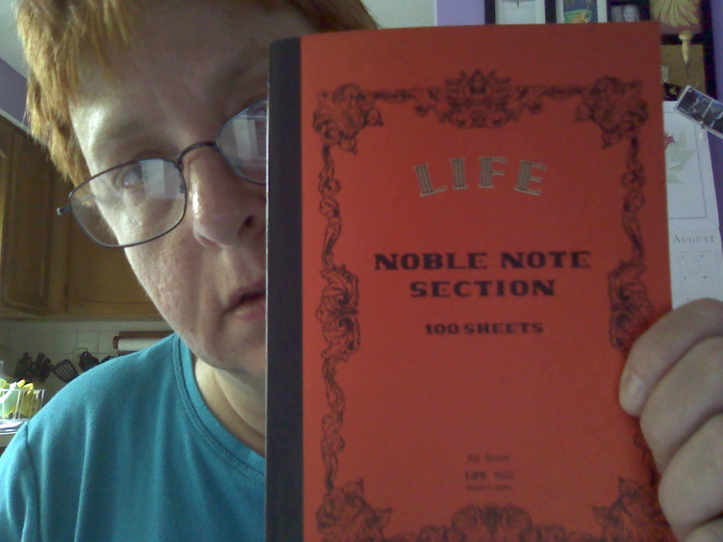 L!fe Noble Note, size A5, with grid