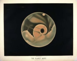 The planet Mars. Observed September 3, 1877