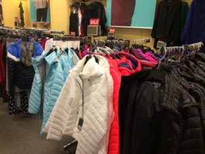 And let's not forget our puffy quilted jackets!